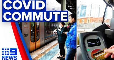 New app to avoid packed public transport | 9 News Australia