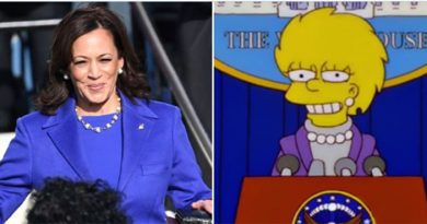 Simpsons 'predicted' Kamala Harris's inauguration outfit years ago
