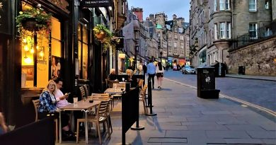 Scotland at Night- Walking through amazing Edinburgh Streets