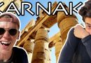 Egypt's BIGGEST Ancient Temple! Amazing Karnak Temple in Luxor استكشاف معبد الكرنك