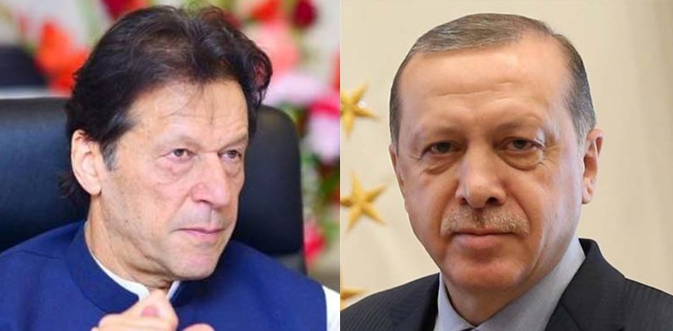 PM Imran, Turkish president discuss US troop pullout from Afghanistan