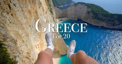 Top 20 Places To Visit In Greece – 4K Travel Guide