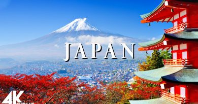 Japan 4K – Relaxing Music Along With Beautiful Nature Videos
